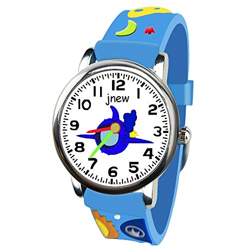 Friends Teacher Watch Time (LET'S GO! Kids Watches Toddler Boys Kids, DIMY Time Teacher Watch for Boys Kids Watches for Boys Kids Best Toys for Boys Age 3-10 Popular Toys for Boys Age 3-8 Blue3 DMKW13)