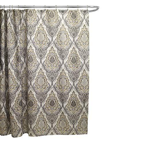 Linen Store Fabric Canvas Shower Curtain, 70