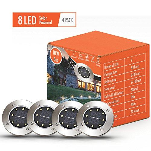 In Deck Lighting Discs