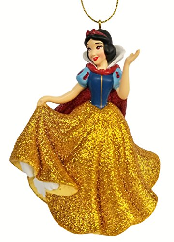 Snow White - in Golden Dress (Princess) Figurine Holiday Christmas Tree Ornament - Limited Availability - New for - Ornament Golden Holiday