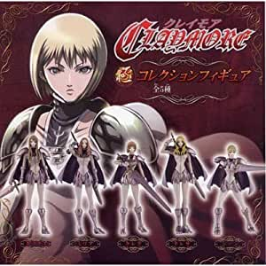 Claymore capsule collection figures all very set of 5 (japan import)