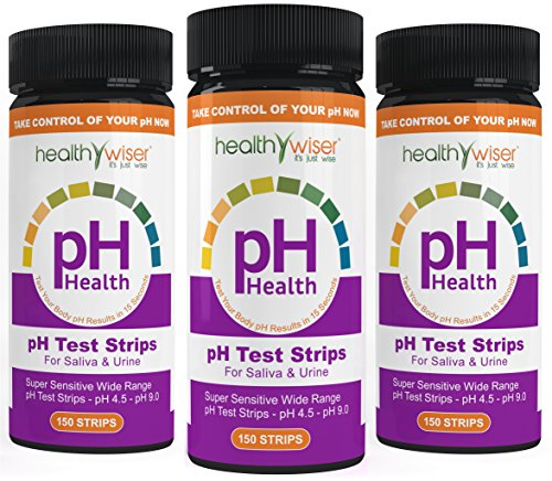 pH Test Strips 200ct + BONUS Alkaline Food chart PDF + 21 Alkaline Diet Recipes eBook For pH Balance, Quick and Accurate Results in 15 seconds, Check Your Acidic & Alkaline Level Using Saliva & Urine (Alkaline Drops For Drinking Water compare prices)
