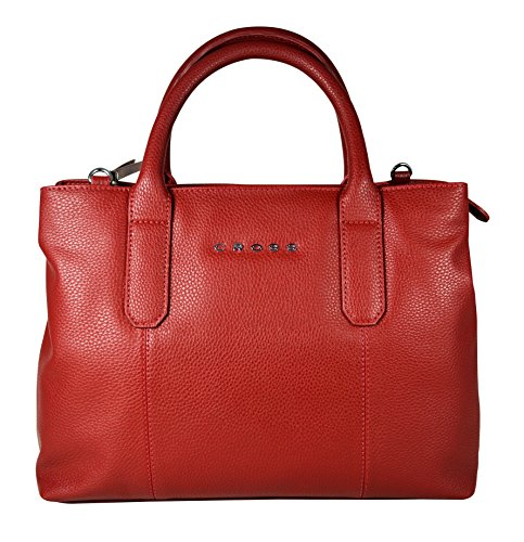 Filofax Red Leather Bag - 5