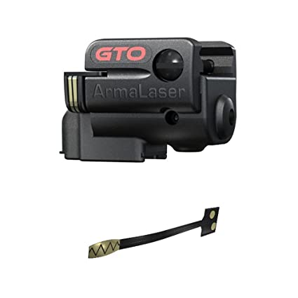 ArmaLaser TAURUS 24 7 G2 GTO Red Laser and FLX26 Grip Switch