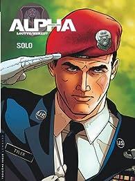 Alpha premières armes, Tome 2 : Solo par Emmanuel Herzet