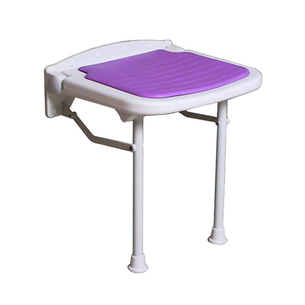 【70%OFF】 WYT-0909 47.5cm 折りたたみ式の壁のシャワーのスツールウォールマウントされたシャワーシートのスツール折りたたみ式の変更靴高齢者 :/障害者のためのスツールアンチスリップ椅子の足のスツールパープルマックス。 250kg(3サイズ) バスルーム用 (サイズ さいず さいず : 47.5cm) 47.5cm B07FM2THG3, eco家具:aae848c4 --- ciadaterra.com