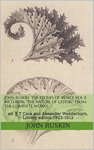 john ruskin the stones of venice