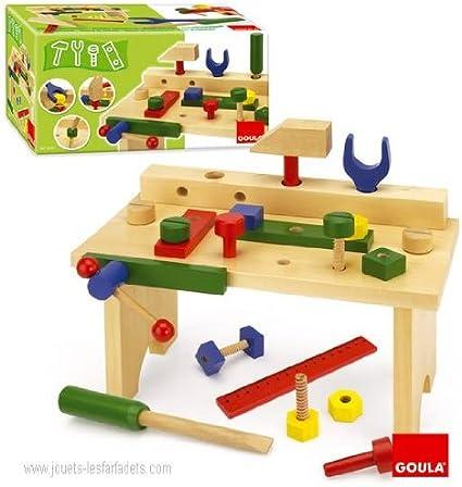 jouets en bois articules marque goula