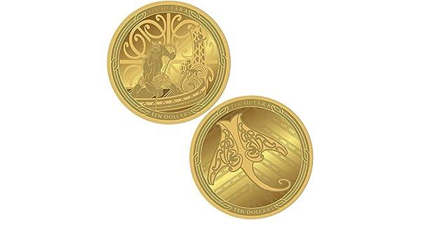 MAUI and The Fish Pescado Te Ika Maui Set 2 Monedas Oro 10$ New ...