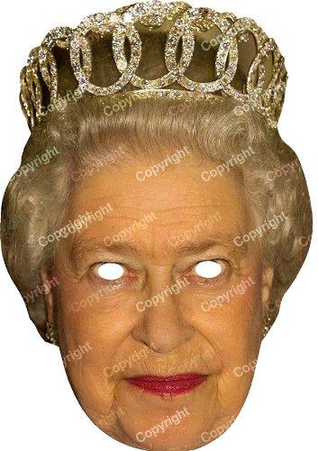 (Forum Novelties Queen Elizabeth Face Mask Celebrity,)