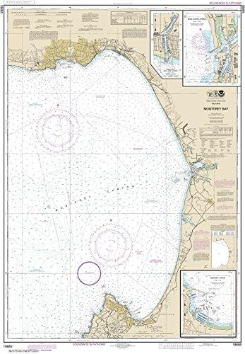 (MapHouse NOAA Chart 18685 Monterey Bay;Monterey Harbor;Moss Landing Harbor;Santa Cruz Small Craft Harbor: 43.12