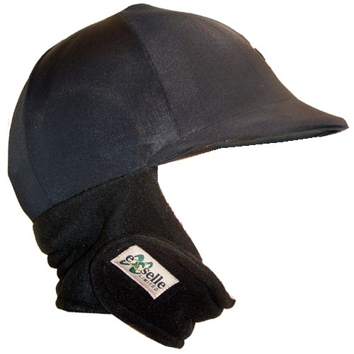 xselle Winter Riding Helmet Cover, Black ()