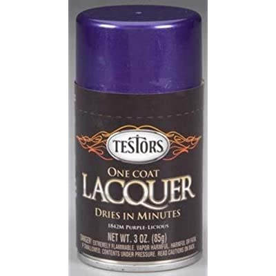 Testor Corp. One Coat- Purple Licious, 3oz: Pet Supplies