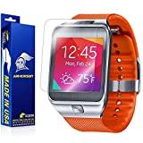 ArmorSuit MilitaryShield - Samsung Gear 2 Screen Protector Anti-Bubble Ultra HD - Extreme Clarity & Touch Responsive Shield with Lifetime Free Replacements - Retail Packaging