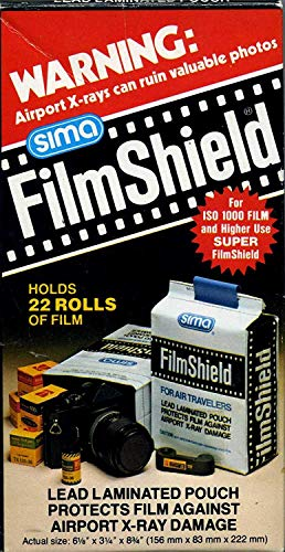Sima FilmShield Lead Laminated Pouch Protects Films Against Airport X-Ray Damage