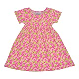 Flap Happy Baby Girls' Classic Tee Dress, Sea Glass, 12m