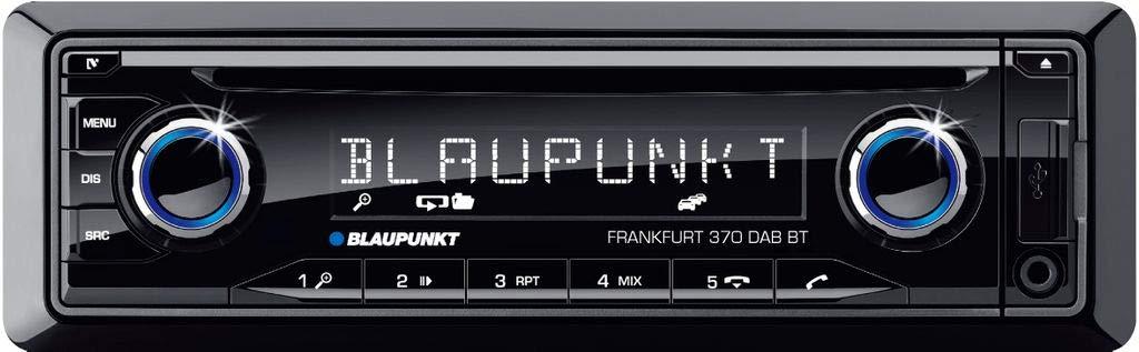 Blaupunkt Frankfurt 370 Dab BT Autoradio Dab Tuner,incl Telecomando,Anschluss per Lenkradfernbe