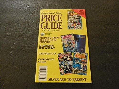 Comics Buyer's Guide Price Guide Apr-Jun 1992