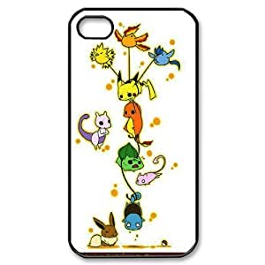 [H-DIY CASE] For Iphone 4 4S-Lovely Pikachu-CASE-9