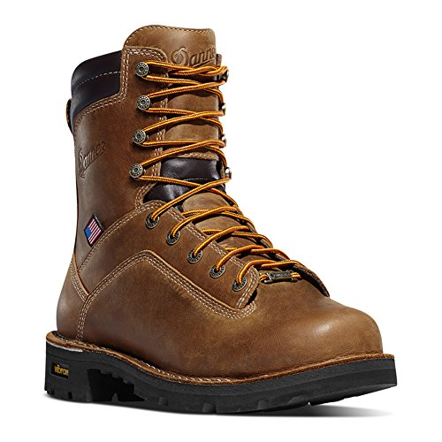 Danner Men's Quarry USA 8 Inch Work Boot,Distressed Brown...