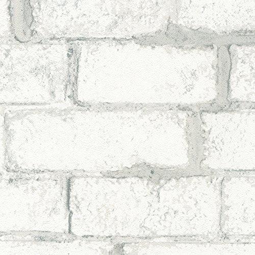 シンコール 壁紙36m レンガタイル調 ホワイト BB-8428 B075HWZJWM 36m