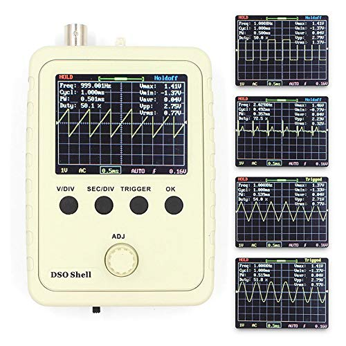 YONEIX Fully Assembled DS0150 15001K DSO-Shell (DSO150) DIY Digital Oscilloscope