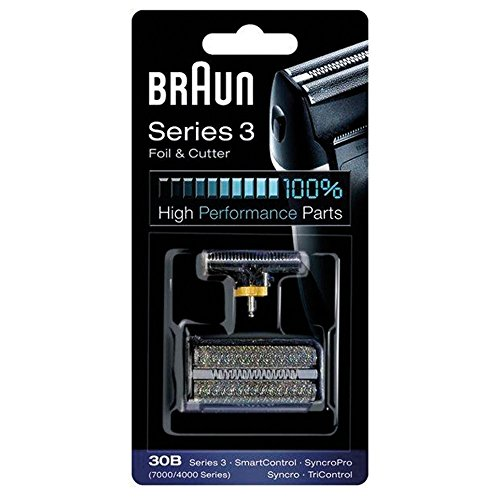 BRAUN 30B Shaver Foil Cutter Replacement Pack made in Germany
