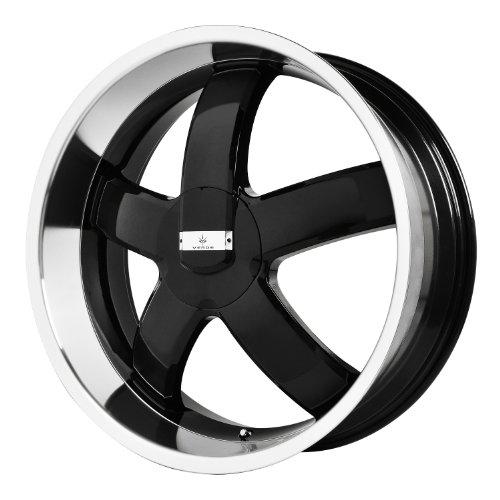 Verde Custom Wheels Skylon Black Wheel with Machined Lip (20x8.5