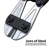 Neiko 00563A Heavy Duty Bolt Cutter, 36-Inch, Chrome Molybdenum Steel Blade