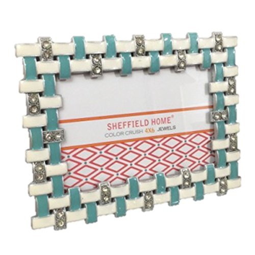 Buy enamel jeweled picture frame