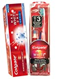 Colgate Palmolive Kit Colgate Max White - The Optic White Toothbrush + Whitening Pen + Colgate Max White One Optic Toothpaste 75 Ml