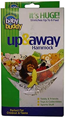Baby Buddy Up and Away Hammock, White | Learning Toys