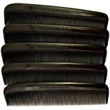 "Set of 10 Clipper-mate Pocket Combs 5"" All Fine Teeth"