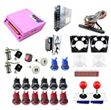 Amatek Arcade DIY Parts Kit Jamma Game Board 680 in 1 pandora box 4s / Arcade Button and Joystick Kit/coin Acceptor /Microswitches/To Build Up Arcade Machine