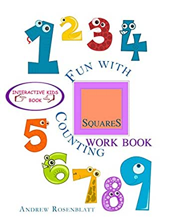 Amazon.com: Children's Book: Fun With Counting Squares ...