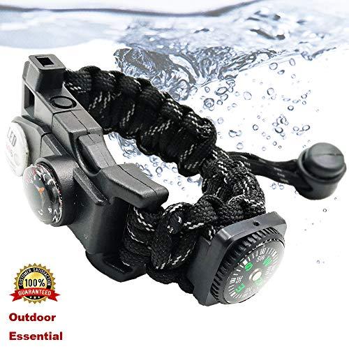 Paracord Bracelet Survival Kit for Women or Men