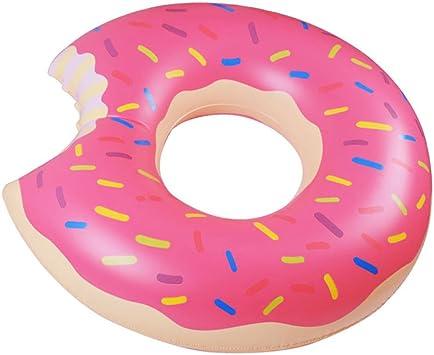 Amazon.com: Fastwolf - Flotador de piscina de donut, rosas ...