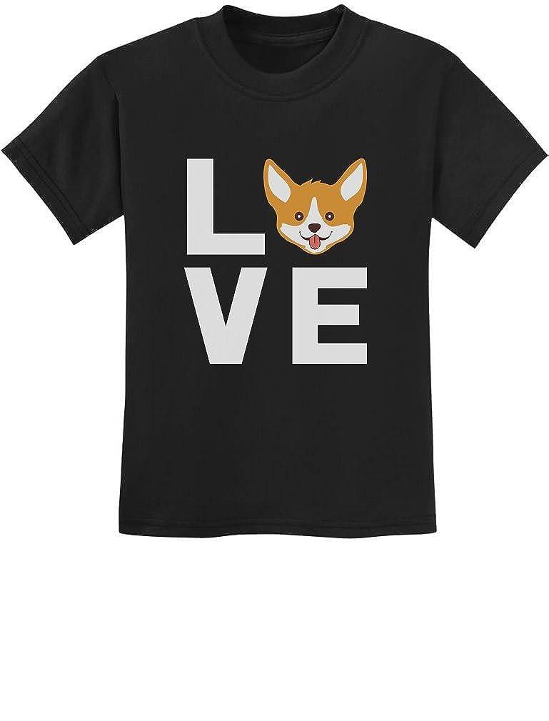 Animal Lover Youth Kids T-Shirt Gift for Dogs Lover Corgi Dog Tstars