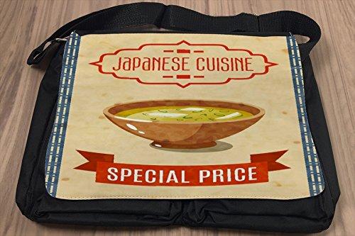 Borsa Tracolla Cucina riso fritto Stampato Ristorante Asiatico