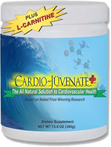 Cardio ~ Juvénat + Cardio rajeunissement et la formule de remise en forme: Supplément d'eau avec 5000mg de L-arginine, 1000mg L-citrulline, le resvératrol 1000mg de L-carnitine, 2500IU vitamine D3 et 100 mg par portion pour améliorer naturellement la sant