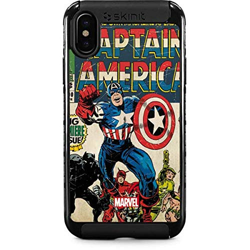 newest bd32d 37152 Amazon.com: Comics iPhone Xs Max Case - Marvel/Disney | Skinit Cargo ...