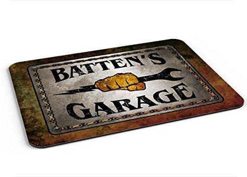 Full Batten (Batten Garage Mousepad/Desk Valet/Coffee Station Mat)