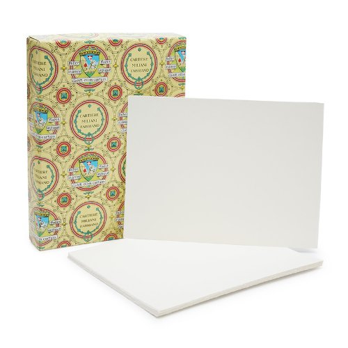 Fabriano Medioevalis Stationery- Single Card Box of 100 2.5 x 3.75 Inch