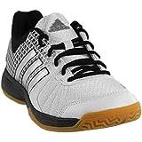 adidas Women's Shoes | Ligra 4W Volleyball, White/Matte Silver/Black, (8 M US)
