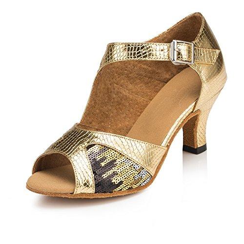 bal femme 6cm Gold Miyoopark Heel Salle de xq6wE7P0U
