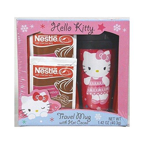 HELLO KITTY LIDDED TRAVEL COCOA product image