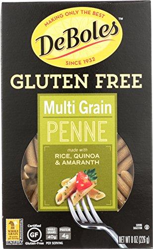 Deboles Pasta (DeBoles Gluten-Free Multigrain Pasta, Penne, 8 Ounce (Pack of 12))