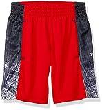 Spalding Little Boys' Core Athletic Short, Red Stripe, 5/6