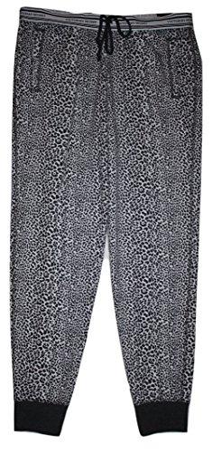 Victoria's Secret Fleece Jogger Pant Leopard Print (Medium)