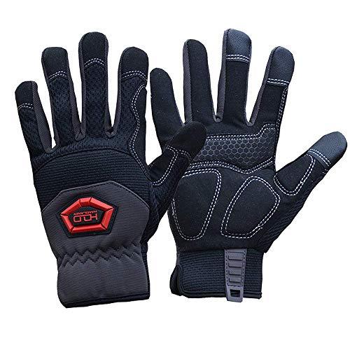 (Impact Work Gloves,Anti Vibrant,Dexterity,Tough,Excellent Flex Grip,Comfortable (Medium))